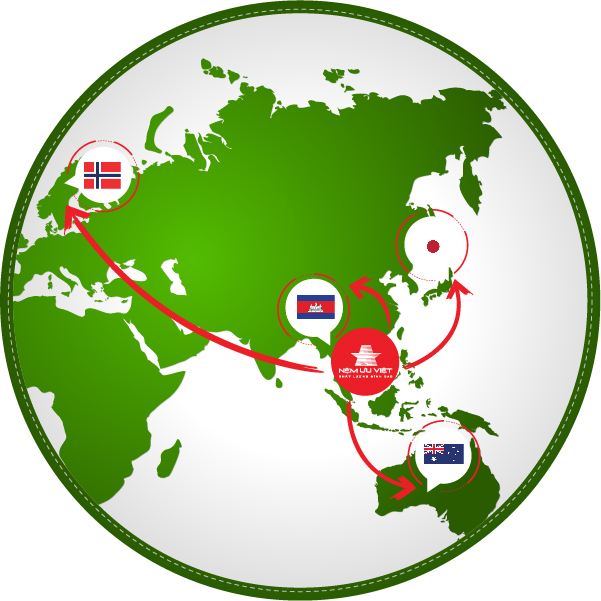 Uu Viet's mattress product are trusted and distributed in many countries